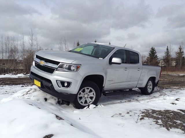 Pre-Owned 2015 Chevrolet Colorado 4WD LT