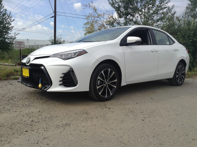 New 2019 Toyota Corolla Se Sedan In Fairbanks Qt5924 Kendall