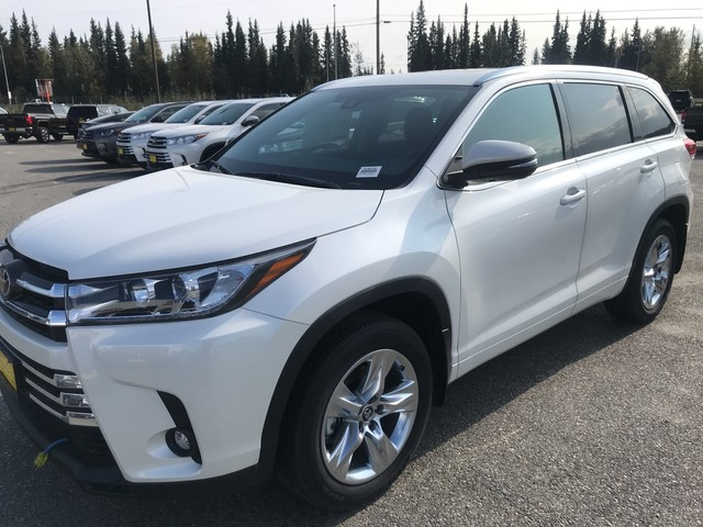 Toyota Highlander Limited >> New 2019 Toyota Highlander Limited All Wheel Drive Suv