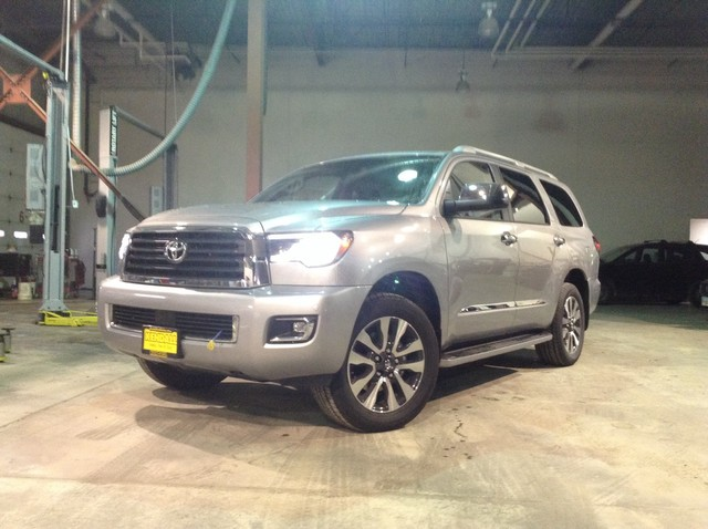 Four Wheel Drive Sport Utility New 2019 Toyota Sequoia Limited